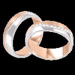 Обручальные кольца с бриллиантами mit Brillanten
