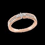 Ladies ring with diamonds