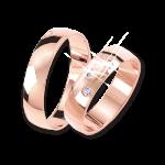 Обручальное кольцо ohne Zirkonia