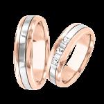 Обручальное кольцо mit Brillanten