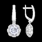 Ohrringe mit Kristall Zirkonia