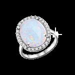 Damenring mit Opal