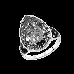 Damenring mit Swarovski Kristall und Zirkonia