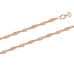 Goldkette oder als Armband 45 cm