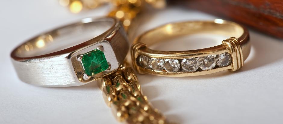 Ringe aus russischem gold
